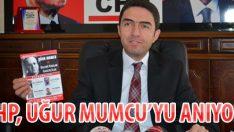 CHP, UĞUR MUMCU'YU ANIYOR