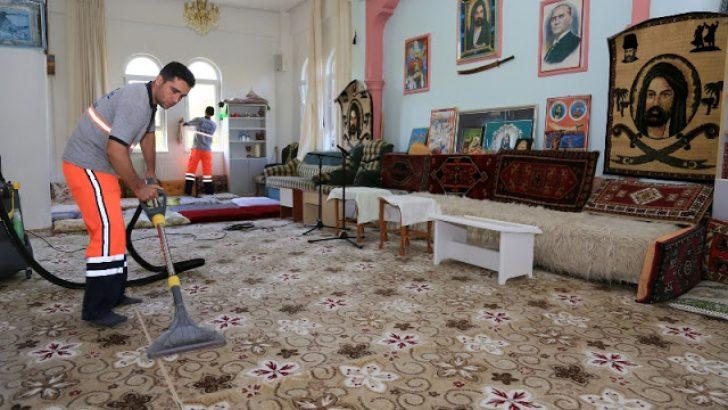 Hz. İmam Zeynel Abidin Türbesi Kültür Vakfı'nın Temizliği Yapıldı