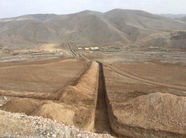Boztepe Recai Kutan Barajı Sulaması inşaatında çalışmalar hızla devam ediyor