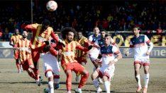TFF 1.Lig'in 18. haftasında Evkur Yeni Malatyaspor, Mersin İdmanyurdu'nu 2-1 yendi.