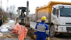 Maski on 3 yılda yaklaşık maliyeti 50.7 Milyon TL olan 1.100 kilometrelik içmesuyu alt yapı çalışması gerçekleştirdi.