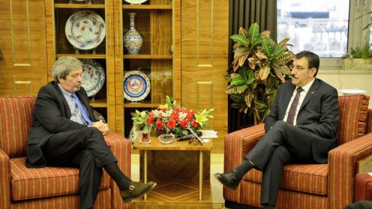 Bakan Tüfenkci, Arjantin Büyükelçisi Tettamanti'yi kabul etti