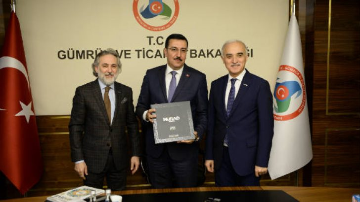 Bakan Tüfenkci, MÜSİAD Heyeti'ni kabul etti
