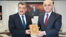 Malatya İl Müftüsü Çimen, 'Hediyem Kur'an Olsun' Kampanyası Kapsamında Başkan Gürkan'ı Ziyaret Etti