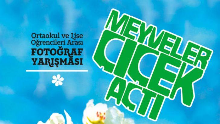 """Malatya'da """"Meyveler Çiçek Açtı"""" konulu fotoğraf yarışması düzenleniyor."""