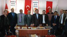 CHP Genel Başkan Yardımcısı Veli Ağbaba, Anadolu Basın Birliği Malatya Şubesini Ziyaret Etti.