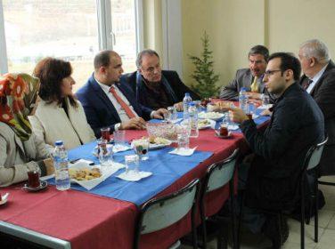 Büyükelçiler Malatya Entegre Çevre Projesi'nde incelemelerde bulundular.