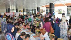 Malatya'da 200 çocuk Annesi için boyama yaptı