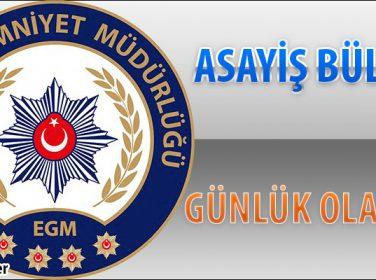 Malatya Emniyeti Haftalık Asayiş Bülteni 29 Mayıs – 4 Haziran 2017