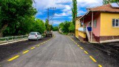 Hekimhan ilçesinin en büyük mahallelerinden biri olan Güzelyurt'ta asfalt çalışmalarını tamamladı.