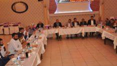 Mhp Battalgazi ilçe Başkanlığı ve yönetimi, MHP Teşkilat Başkanları ile iftar yemeğinde buluştu.