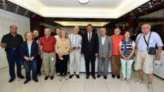 Malatya'ya Robert Koleji 1967 mezunları, Gürkan'ı ziyaret etti.