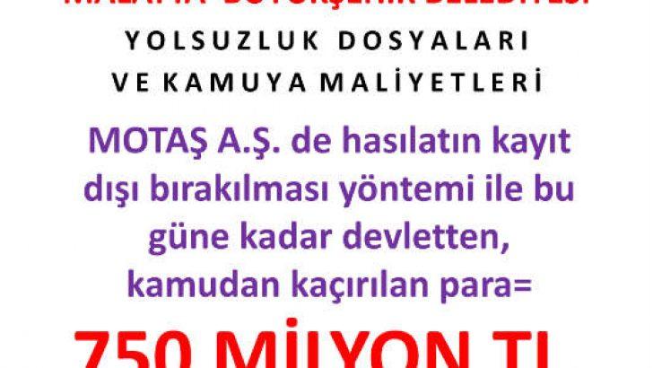 #kurtulmalatya Motaş yolsuzlugu kapatıldı fetö operasyonları durduruldu @RT_Erdogan @varank