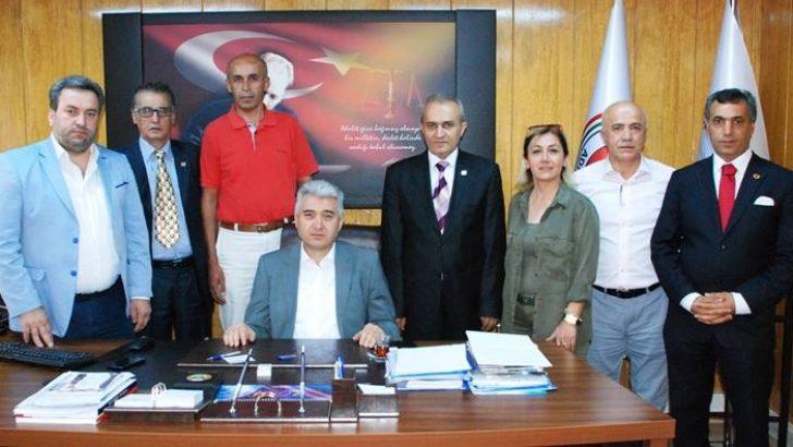 ABBD Malatya Şubesi Başsavcı Orhan Usta'ya Ziyaret Etti