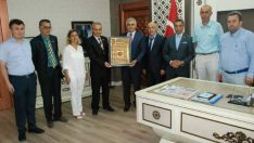 Anadolu Basın Birliği Derneği Malatya Şubesi Yönetim Kurulu, Malatya İl Emniyet Müdürü Dr. Ömer Urhal'ı Yeni Emniyet Binasında Ziyaret Etti.