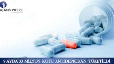 Türkiye'de madde bağımlılığı 2011 yılından beri 6 yılda 17 kat artışa geçerken son 9 ayda 33 milyon kutu antidepresan tüketildi.
