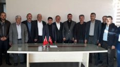 Şahbaz, Mhp İl Başkanı Avşar ve Yönetimine Başarılar Diliyoruz