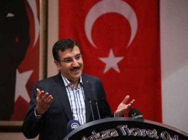 Bakan Tüfenkçi :Türkiye Halciler Federasyonu 6. Olağan Genel Kurul Toplantısı'na katıldı.