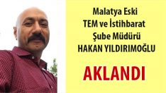 """Malatya Eski Tem ve İstihbarat Şube Müdürü HAKAN YILDIRIMOĞLU 'bylock""""dan aklandı"""