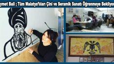 Kıymet Bali ; Çini ve Seramik Sanatı Bizim İşimiz