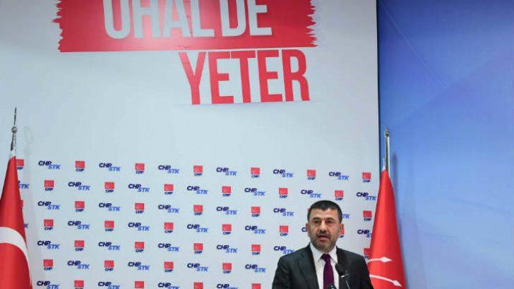 Veli Ağbaba, MYK'ya tekrar girerek tekrar genel başkan yardımcılığı görevine getirildi.