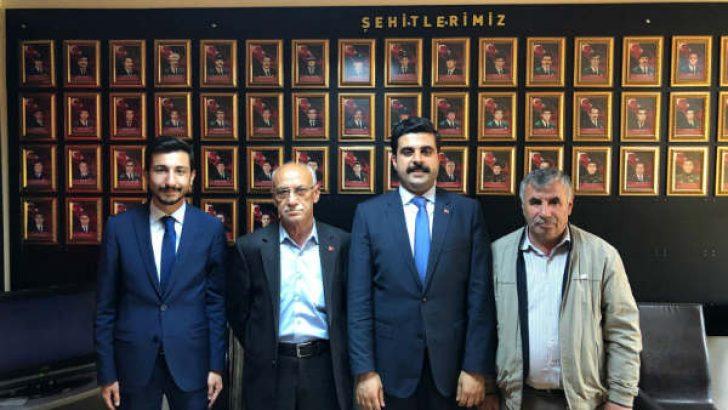 AK Parti Malatya Milletvekili Aday Adayı Nail Tuna, Şehit Polis Aileleri Derneğini ziyaret etti.