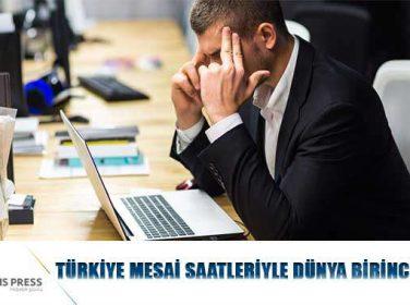 Türkiye Mesai Saatleriyle Dünya Birincisi