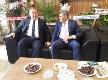 Samanlıoğlu, TSO'yu ziyaret etti