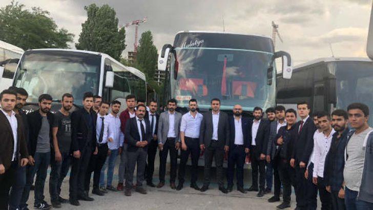 MHP'nin Seçim Beyannamesi ve Milletvekili Aday Tanıtım Toplantısı Ankara Spor Salonu'nun da yapıldı.