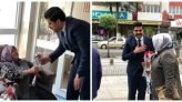 Genç Dinamik AK Parti Malatya Milletvekili Aday Adayı Nail Tuna Malatya'nın çeşitli noktalarında binlerce karanfil dağıttı.