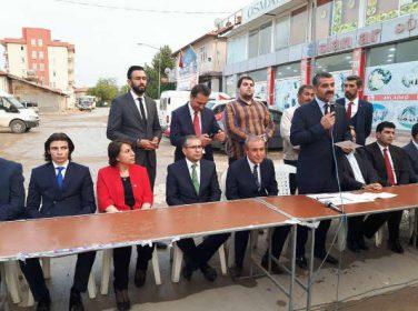 MHP M.Vekili Adayı Ömer Ekici : 24 Haziran seçimleri öncesindeİskenderoğlu'nu görevden almak, bir yerde bizim Akçadağlıların oyunu ihtiyacımız yok demektir.