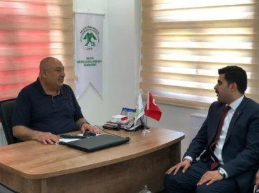 AK Parti Malatya Milletvekili Aday Adayı Nail Tuna, Yeşiltepeliler Sosyal Yardımlaşma ve Dayanışma Derneğini ziyaret etti.