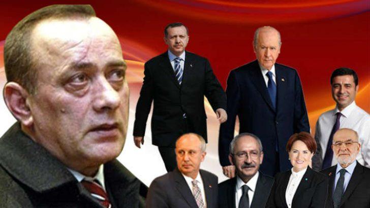 Kırıkkale Keskin T Tipi Cezaevinde Kalan Alaattin Çakıcı, seçime günler kala, Basın Danışmanı Ferhat Aydoğan aracılığı ile kamuoyuna flaş açıklamalarda bulundu.