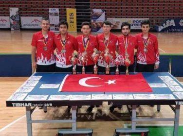Malatya Masa Tenisi oyuncusu Alican Şeker 3 Madalya Aldı