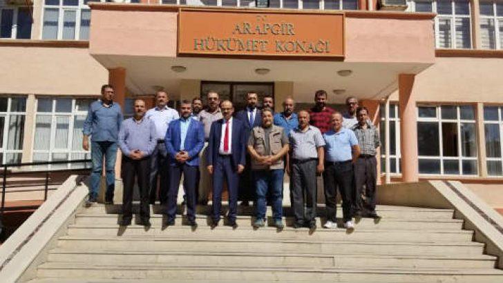 Milletvekili Fendoğlu'nun Arapgir incelemesi