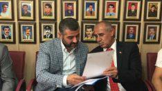 Mhp Malatya İl Başkanı Avşar ve Yönetimi ,Türkiye Gaziler ve Şehit Aileleri Vakfı Malatya Şubesini Ziyaret Etti