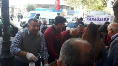 Malatya'da Atatürk İçin Bir Ton Lokma Dağıtıldı