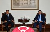 MHP Malatya Milletvekili Fendoğlu, Vasip Şahin'e hayırlı olsun ziyaretinde bulundu.