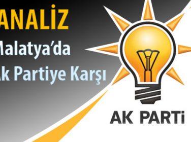 Malatya'da AKP, AK partiye karşı. ANALİZ