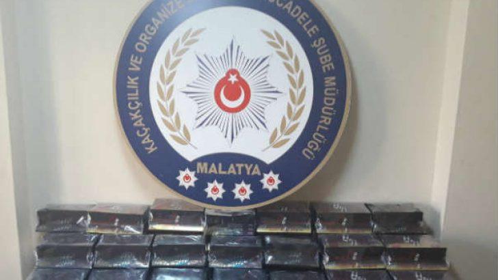 Malatya'da Gümrük Kaçağı Kozmetik Ürün Ele Geçirildi