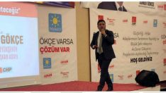 """CHP Büyükşehir Belediye Başkan Adayı Soner Gökçe, """"Bu kenti Birlikte Yöneteceğiz"""" sloganıyla projelerini anlattı."""