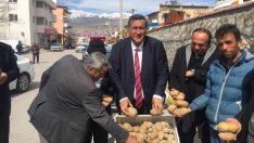 CHP Milletvekili Gürer, patates ithalatında gümrük vergisinin sıfırlanmasına büyük tepki gösterdi