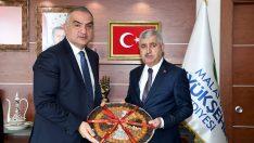 Kültür ve Turizm Bakanı Mehmet Nuri Ersoy  Malatya'da