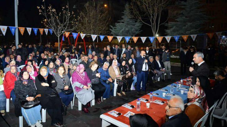 """Çınar, """"Artık Yeşilyurt'umuz; Malatya'mızda da, ülkemizde de marka şehirler arasında yerini aldı."""
