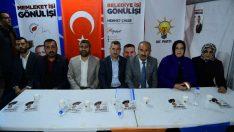 """Çınar, """"31 Mart'ta yeni bir zafer kazanarak, 'Gönül Belediyeciliği' anlayışıyla milletimize hizmet etmeye devam edeceğiz"""" dedi."""