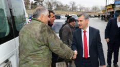 Mehmet Çınar, 31 Mart'ta gerçekleştirilecek olan yerel seçimler kapsamında çalışmalarını sürdürüyor.