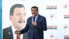"""AK Parti Malatya Büyükşehir Belediye Başkan Adayı Selahattin Gürkan, """"Malatya'yı hep birlikte Süper Lig'e çıkartacağız"""" dedi."""