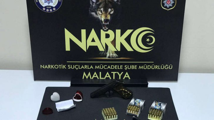 Malatya'da Uyuşturucu'dan 5 Tutuklama