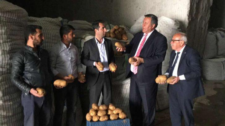 200 bin ton patates ithalatı için gümrük vergisinin sıfırlanması, yerli üreticiyi zora soktu