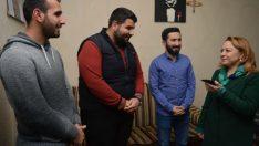 Rektör Karabulut'tan öğrenci evine sürpriz ziyaret